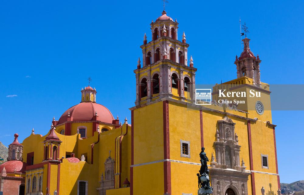 Basilica de Nuestra Senora de Guanajuato, Mexico