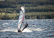 Windsurfing på Storsjön, Jämtland