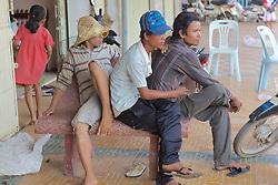 Young Men At Phsar Nath Market