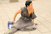 China, Xian Shaanxi, Local Beggar