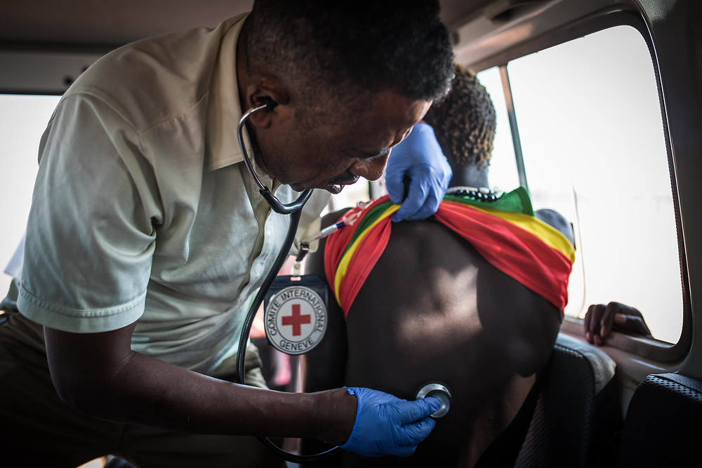 Medevacs - together with surgical interventions for weapon-wounded patients - are something the ICRC has carried out for decades - initially from South Sudan to the ICRC hospital in Lopideng in northern Kenya, and since independence to various locations within South Sudan. South Sudan, 2020.