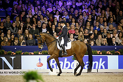 Verliefden Fanny, (BEL), Annarico <br /> Reem Acra FEI World Cup Dressage<br /> Jumping Amsterdam 2016<br /> © Hippo Foto - Dirk Caremans<br /> 30/01/16