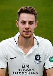 Middlesex's Robbie White  during the media day at Lord's Cricket Ground, London. PRESS ASSOCIATION Photo. Picture date: Wednesday April 11, 2018. See PA story CRICKET Middlesex. Photo credit should read: John Walton/PA Wire. RESTRICTIONS: Editorial use only. No commercial use without prior written consent of the ECB. Still image use only. No moving images to emulate broadcast. No removing or obscuring of sponsor logos.