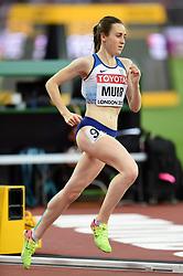 Laura Muir of Great Britain in action - Mandatory byline: Patrick Khachfe/JMP - 07966 386802 - 13/08/2017 - ATHLETICS - London Stadium - London, England - Women's 5000m Final - IAAF World Championships