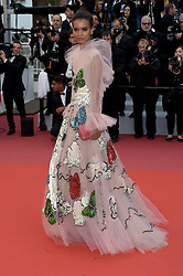 May 17, 2019 - Cannes, France - 72nd Cannes Film Festival 2019, Red Carpet film : Dolor y gloria.Pictured: Lyia Kebede (Credit Image: © Alberto Terenghi/IPA via ZUMA Press)