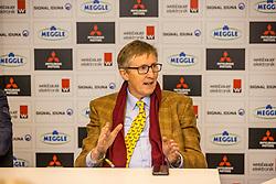 Dr Kaspar Funke, GER, show organizer<br /> Impressions and overview Westfalenhalle<br /> Dortmund - Signal Iduna Cup 2020 2020<br /> © Hippo Foto - Stefan Lafrentz<br /> 13/03/2020