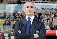 """L'Allenatore del Parma Claudio Ranieri<br /> Parma Trainer Claudio Ranieri<br /> Italian """"Serie A"""" 2006-07<br /> 04 Mar 2007 (Match Day 27)<br /> Parma-Reggina (2-2)<br /> """"Ennio Tardini""""-Stadium-Parma-Italy<br /> Photographer: Luca Pagliaricci INSIDE"""