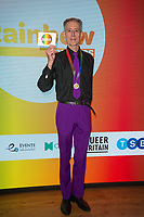 Peter Tatchell at  the Rainbow Honours Awards, at Madame Tussauds, London. 04.12.19