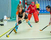 AMSTERDAM - Zaalhockey hoofdklasse, Laren D1-Groningen D1 (2-2). COPYRIGHT KOEN SUYK
