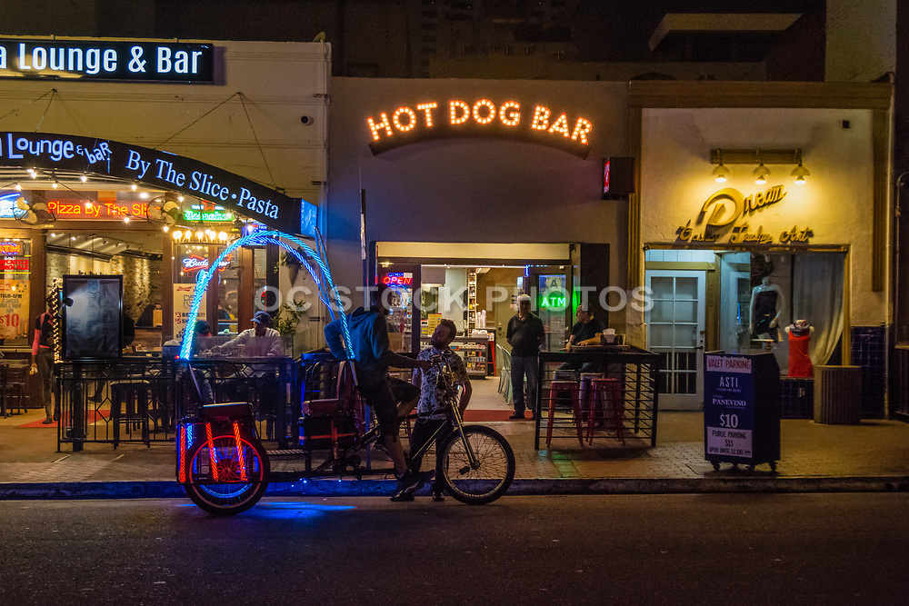 Gaslamp Quarter Nightlife In Downtown San Diego
