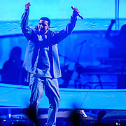 """WASHINGTON, DC - October 31st, 2013 -  Drake performs at the Verizon Center in Washington,D.C. as part of his """"Would You Like A Tour?"""" tour. Drake's latest album, Nothing Was The Same, was released in September and debuted at at number one on the US Billboard 200 album chart.  (Photo by Kyle Gustafson / For The Washington Post)"""