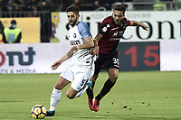 Roberto Gagliardini-Leonardo Pavoletti<br /> Cagliari 25-11-2017 Sardegna Arena Football Calcio Serie A 2017/2018 Cagliari - Inter Foto Daniele Buffa / Image / Insidefoto