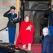 NLD/Amsterdam/20181127 - Koning reikt Erasmusprijs 2018 uit aan Barbara Ehrenreich, Koningin Maxima