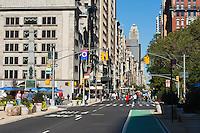 broadway in midtown in New york City in October 2008