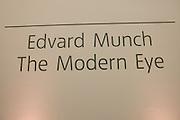 Edvard Munch, the Modern Eye. Tate Modern, 26 June 2012.