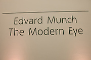 Edvard Munch, the Modern Eye. Tate Modern, 26 June 2012.