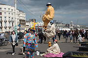 yoda street entertainers, Brighton, ,  27 May  2019