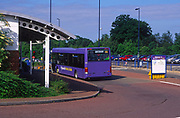 AT5BX7 Ipswich park and Ride bus Suffolk England