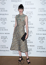 Erin O'Connor attending the Harper's Bazaar Woman of the Year awards at Claridges in London. Picture date: Monday October 31, 2016. Photo credit should read: Isabel Infantes / EMPICS Entertainment.