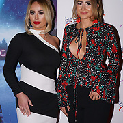 London, England, UK. 14th September 2017.Ruby Lacey,Maddie Hopper attend the Landing Lake Film Premiere at Empire Haymarket,London, UK.