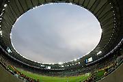 Rio de Janeiro_RJ, Brasil.<br /> <br /> Copa das Confederacoes Espanha 10x0 Taiti. Jogadores de Espanha e Taiti disputam partida pela primeira fase da copa das confederacoes, em jogo valido do grupo B no estadio do Maracana.<br /> <br /> Confederations Cup Spain 10x0 Tahiti. Players of Spain and Tahiti compete starting the first phase of the Confederations Cup in valid game in Group B in the Maracana stadium.<br /> <br /> Foto: MARCUS DESIMONI / NITRO