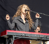 """Rae Morris live at """"Relentless Boardmasters 2015"""" in Newquay, Cornwall 8th aug 2015  Photo Matt Bromage"""