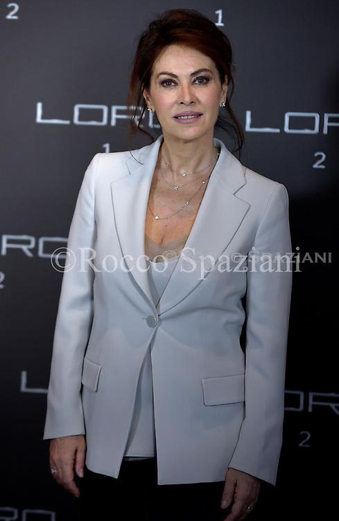 Italian Actress Elena Sofia Ricci attends Movie  'Loro 2' photocall on May 2, 2018 in Rome, Italy.