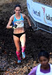 25-11-2012 ATLETIEK: NK CROSS WARANDELOOP: TILBURG<br /> Adrienne Herzog<br /> ©2012-FotoHoogendoorn.nl