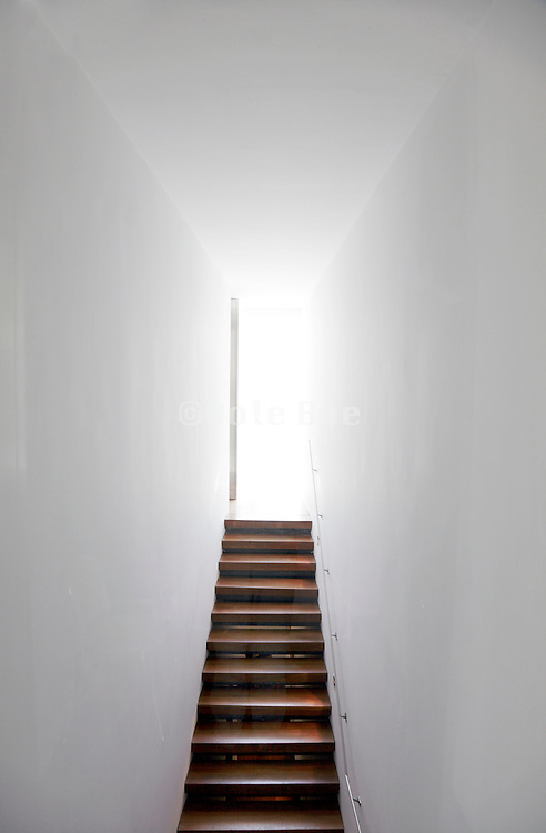 long stairs ending into the light