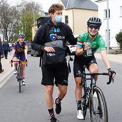 01-05-2021: Wielrennen: Elsy Jakobs 2: Luxembourg: Leah Kirchmann: Jens van Slycke