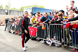 Alexis Sanchez of Manchester United arrives at Turf Moor - Mandatory by-line: Robbie Stephenson/JMP - 02/09/2018 - FOOTBALL - Turf Moor - Burnley, England - Burnley v Manchester United - Premier League