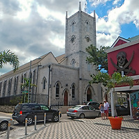 CHRIST CHURCH CATHEDERAL - TRAVEL STOCK PHOTOS OF THE BAHAMAS