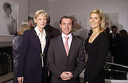 ALEXANDRE PERYRE DE NONANCOURT , HON DANIEL BRENNAN AND STEPHANIE MENEUX DE NONANCOURT. ( THE 2 WOMEN ARE THE DAUGHTERS OF THE OWNER OF LAUREN PERRIER. The private view and Laurent Perrier champagne reception for Diana, Princess Of Wales By Mario Testino at Kensington Palace, London. November 22 November 2005. ONE TIME USE ONLY - DO NOT ARCHIVE  © Copyright Photograph by Dafydd Jones 66 Stockwell Park Rd. London SW9 0DA Tel 020 7733 0108 www.dafjones.com