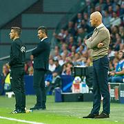 NLD/Amsterdam/20180919 - Ajax - AEK, coach Eric ten Hag