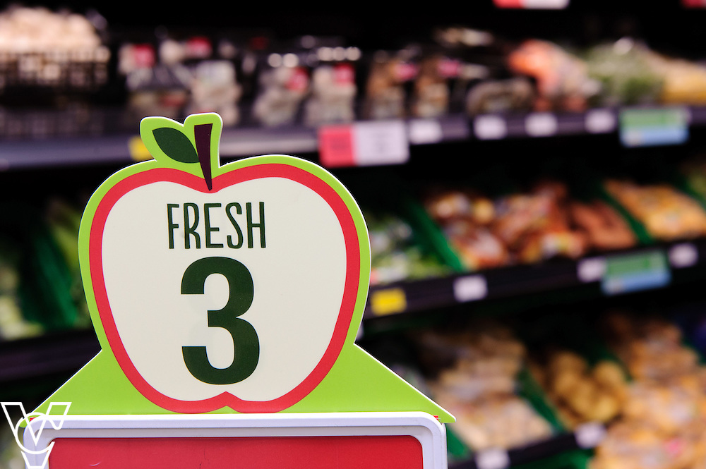 Metheringham Food Store: Lincolnshire Co-op 'fresh 3' branding in store<br /> <br /> The Lincolnshire Co-op's in store Christmas Event Day.<br /> <br /> Date: November 28, 2015<br /> Picture: Chris Vaughan/Chris Vaughan Photography