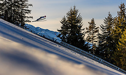 28.01.2017, Casino Arena, Seefeld, AUT, FIS Weltcup Nordische Kombination, Seefeld Triple, Skisprung, im Bild Yoshito Watabe (JPN) // Yoshito Watabe of Japan in action during his Trail Jump of Skijumping of the FIS Nordic Combined World Cup Seefeld Triple at the Casino Arena in Seefeld, Austria on 2017/01/28. EXPA Pictures © 2017, PhotoCredit: EXPA/ JFK