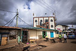 May 2, 2020, Nairobi, Kenya: A normally filled up business street of Kibera is seen empty during the Covid-19 Virus Pandemic Curfew. (Credit Image: © Donwilson Odhiambo/ZUMA Wire)