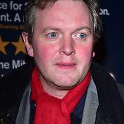 London, England, UK. 23 January 2018. Miles Jupp Arrivers at Beginning - press night at Ambassadors Theatre.