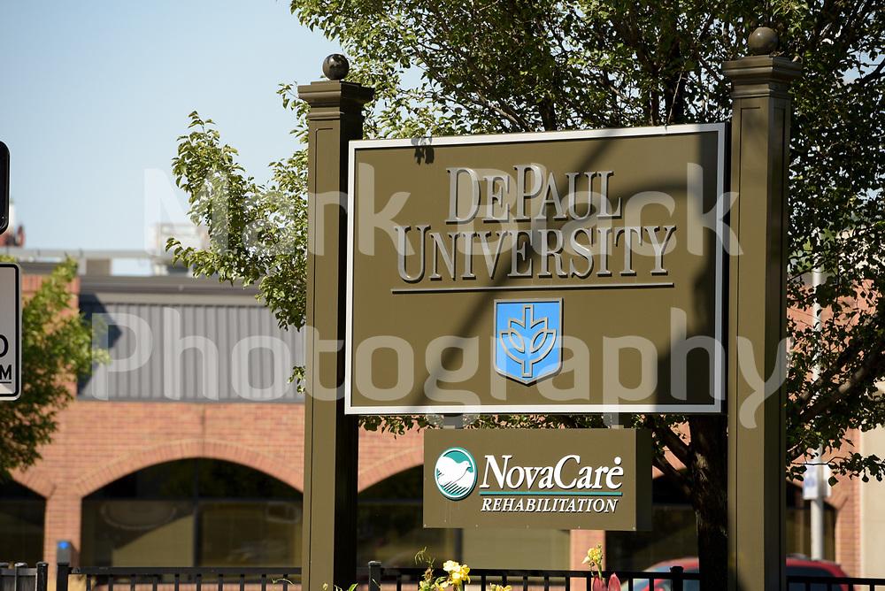 DePaul University in Chicago on Thursday, Sept. 3, 2020. Photo by Mark Black
