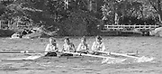 Kingston on Thames, United Kingdom.    Tideway Scullers School. W4+. Stroke Sue SMITH, No.3. Kate GROSE. The final Round of the Leyland Daf Sprint series, at Kingston RC on the River Thames, Surrey, England, <br /> <br /> Saturday 04.05.1987<br /> <br /> [Mandatory Credit; Peter Spurrier/Intersport-images] 1987 Leyland Daf Sprints, Kingston. UK