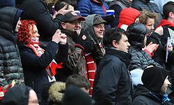 Bristol City fans - Mandatory by-line: Nizaam Jones/JMP - 17/03/2018 - FOOTBALL - Ashton Gate Stadium- Bristol, England - Bristol City v Ipswich Town - Sky Bet Championship