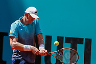Kevin Anderson of South Africa in action during the Mutua Madrid Open 2018, tennis match on May 10, 2018 played at Caja Magica in Madrid, Spain - Photo Oscar J Barroso / SpainProSportsImages / DPPI / ProSportsImages / DPPI