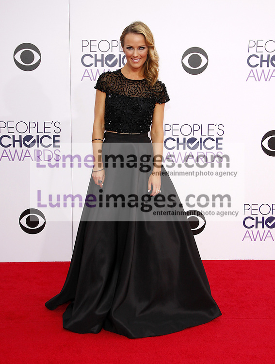 Ashlan Gorse at the 41st Annual People's Choice Awards held at the Nokia L.A. Live Theatre in Los Angeles on January 7, 2015. Credit: Lumeimages.com