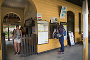 Railway station ticket office Ella, Badulla District, Uva Province, Sri Lanka, Asia