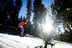 Anton Shipulin (RUS) during Men 15 km Mass Start at day 4 of IBU Biathlon World Cup 2015/16 Pokljuka, on December 20, 2015 in Rudno polje, Pokljuka, Slovenia. Photo by Ziga Zupan / Sportida