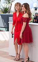 Actress Emma Suarez and Actress Adriana Ugarte at the Julieta film photo call at the 69th Cannes Film Festival Tuesday 17th May 2016, Cannes, France. Photography: Doreen Kennedy