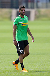 29.06.2015, Trainingsanlage Borussia Moenchengladbach, Moenchengladbach, GER, 1. FBL, Borussia Moenchengladbach, Trainingsauftakt, im Bild Alvaro Dominguez (Moenchengladbach) // during a traning session of German 1st Bundeliga Club Borussia Moenchengladbach at the Trainingsanlage Borussia Moenchengladbach in Moenchengladbach, Germany on 2015/06/29. EXPA Pictures © 2015, PhotoCredit: EXPA/ Eibner-Pressefoto/ Hommes<br /> <br /> *****ATTENTION - OUT of GER*****