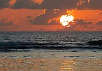 Beach Sunset in Seychelles
