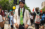 Mustafa Ali at the Climate March in Washington D.C.
