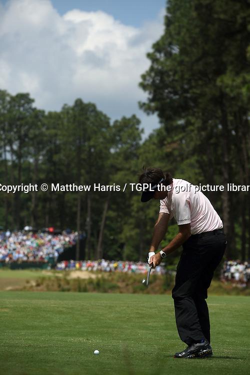 Bubba WATSON (USA) during second round US Open Championship 2014,Pinehurst No 2,Pinehurst,North Carolina,USA.